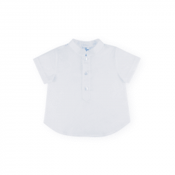 Camisa Niño Blanca Cuello...