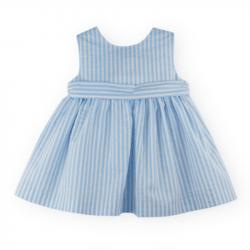 Vestido Niña Sara en azul...