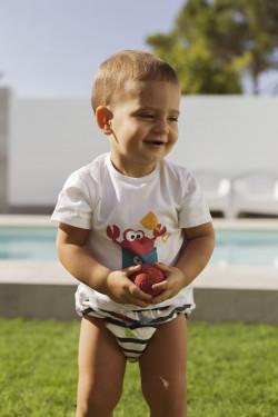 Conjunto Bebé de Camiseta y...
