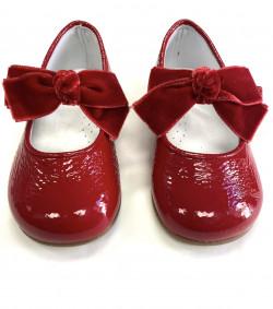 Zapato en Charol Rojo Landos