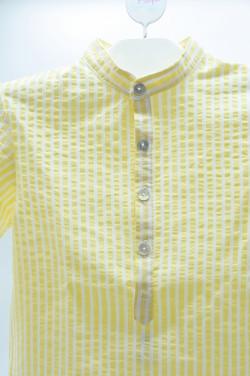 Camisa  Mao Amarilla Azul...