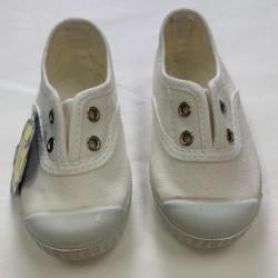 Zapatilla Blanca Puntera de...