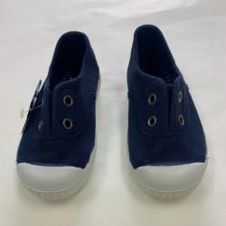 Zapatilla Azul Marino con...